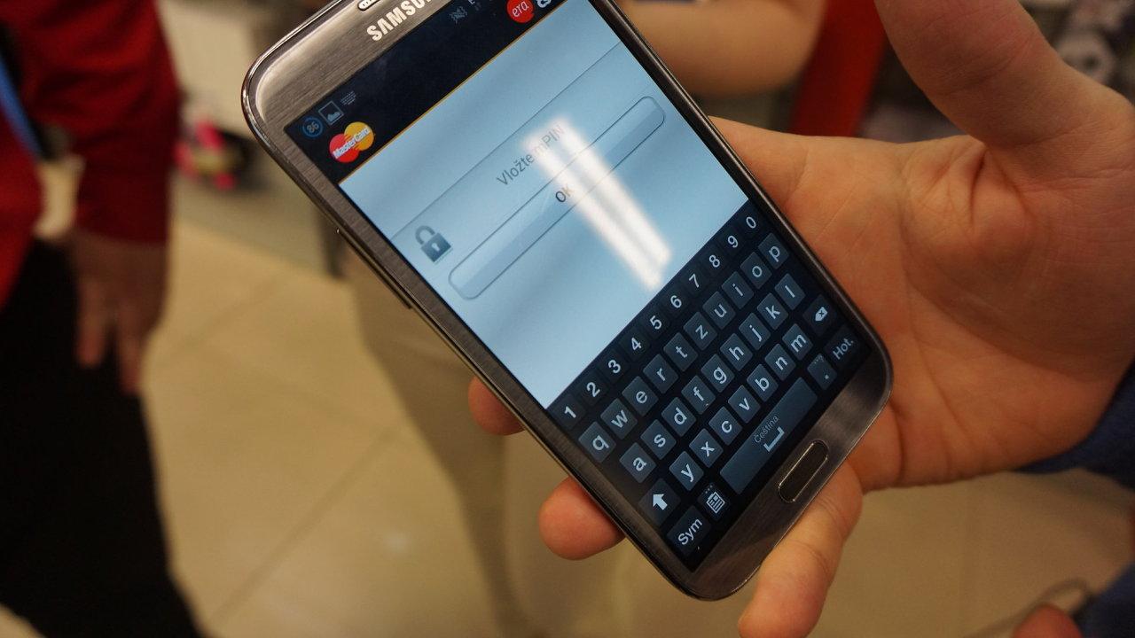 Platební systém Mastercard Mobile