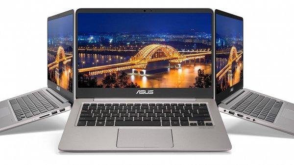 Notebook Asus Zenbook UX410UA má výborný poměr ceny a výbavy