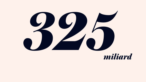 325 miliard