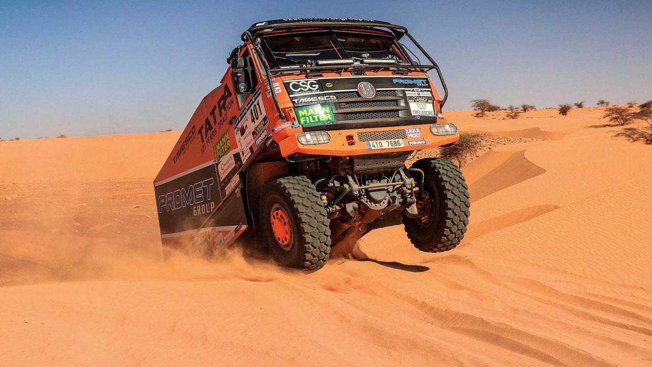 Poosmé v řadě se tým Promet/Czechoslovak Group Tomáše Tomečka zúčastnil Africa Eco Race - The Race to Dakar, dálkového závodu navazujícího na ducha původní Rallye Dakar.