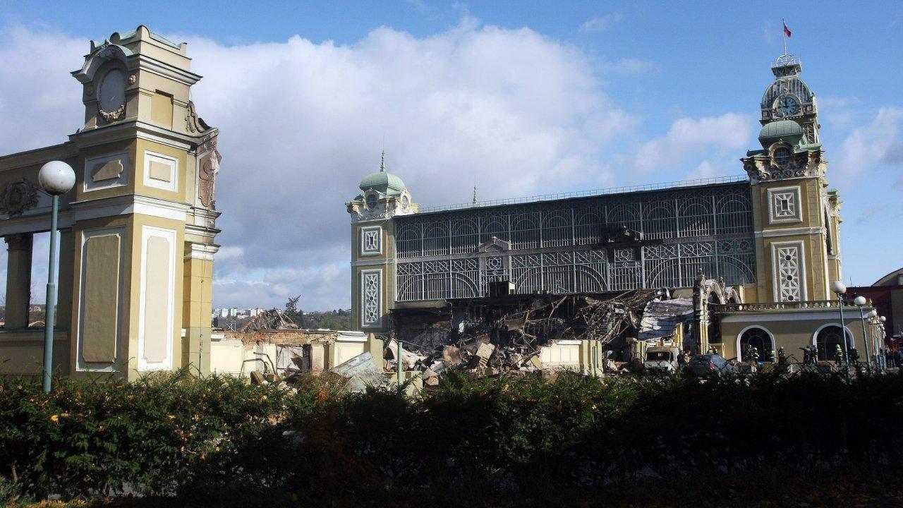 Vyhořelý Průmyslový palác