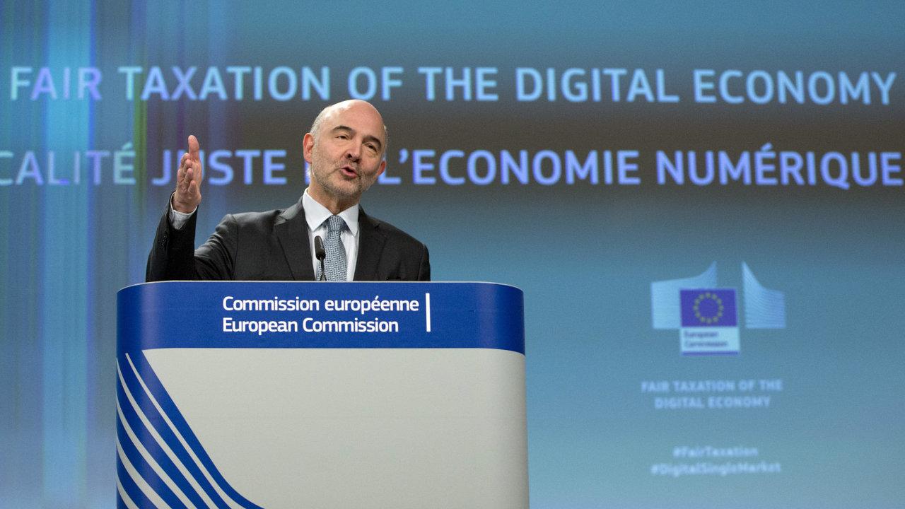 Eurokomisař Pierre Moscovici
