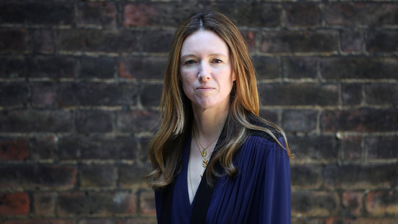 Návrhářka Clare Waight Keller ze Givenchy.