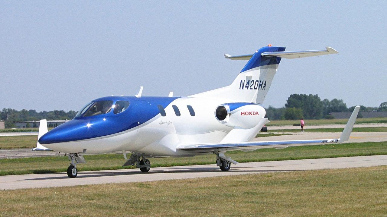 Tryskové letadlo HondaJet