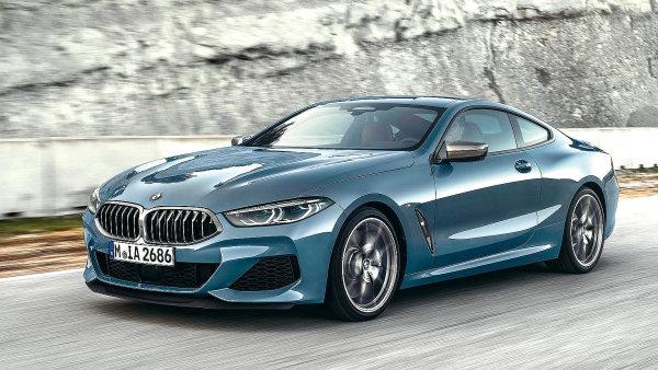 """BMWunové """"osmičky"""" vsadilo naextravagantní design. Má třeba nejužší světla vhistorii značky."""