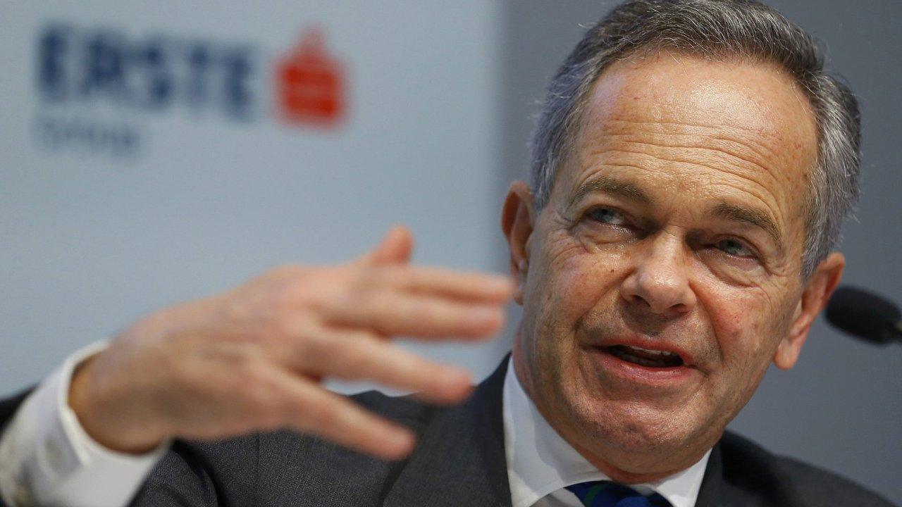 Dosavadní generální ředitel Erste Group Andreas Treichl.