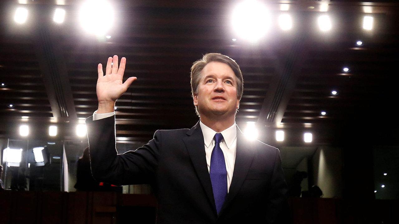 Ohrožený soudce. Obvinění Bretta Kavanaugha ze sexuálního násilí komplikuje situaci jemu i Donaldu Trumpovi.