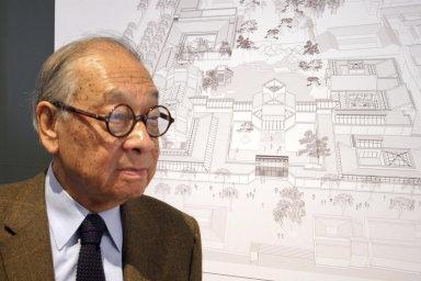 Ve věku 102 let zemřel architekt skleněné pyramidy v Louvru. Ieoh Ming Pei navrhl také slavnou budovu čínské banky v Hongkongu