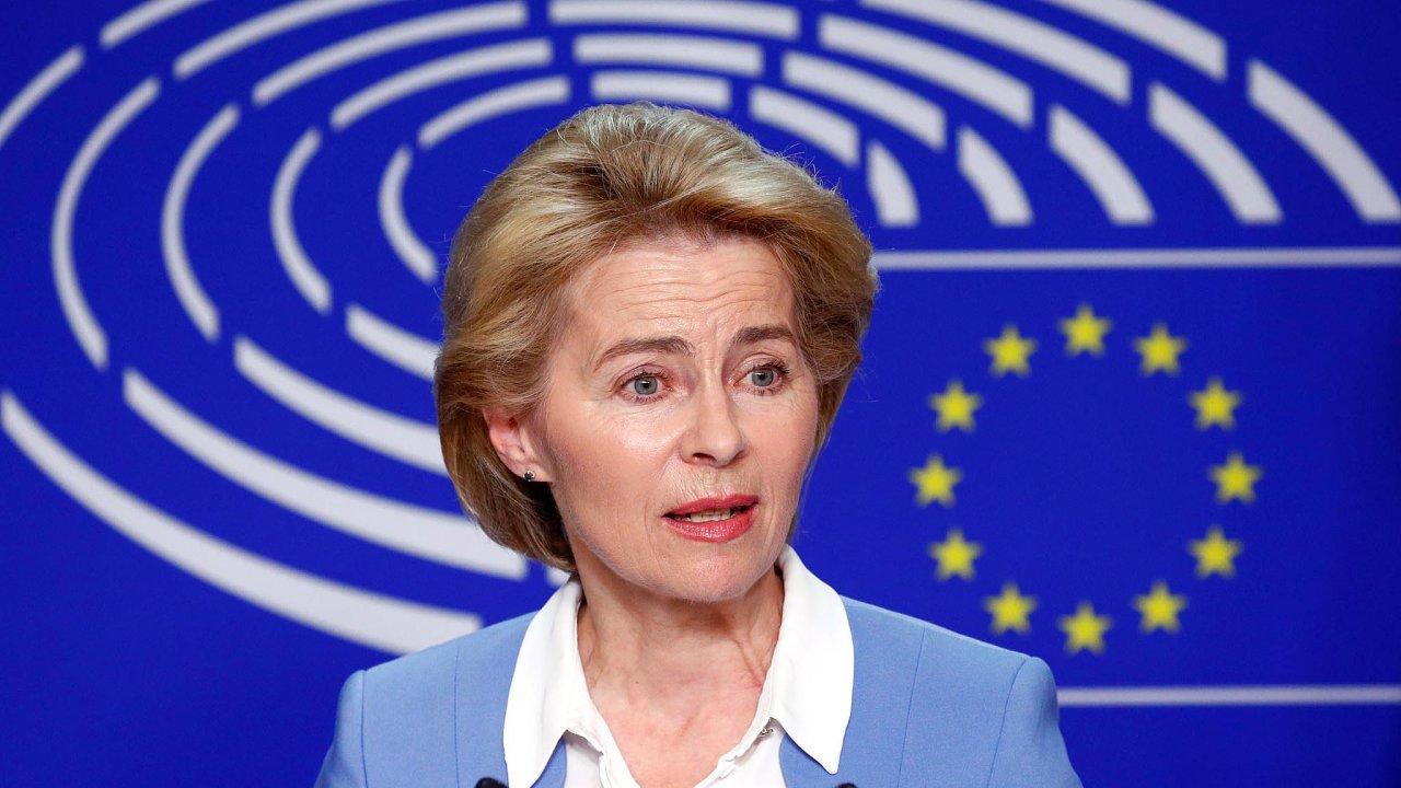 Ursula von der Leyenová, kterou si lídři zemí Evropské unie přejí dočela Evropské komise.
