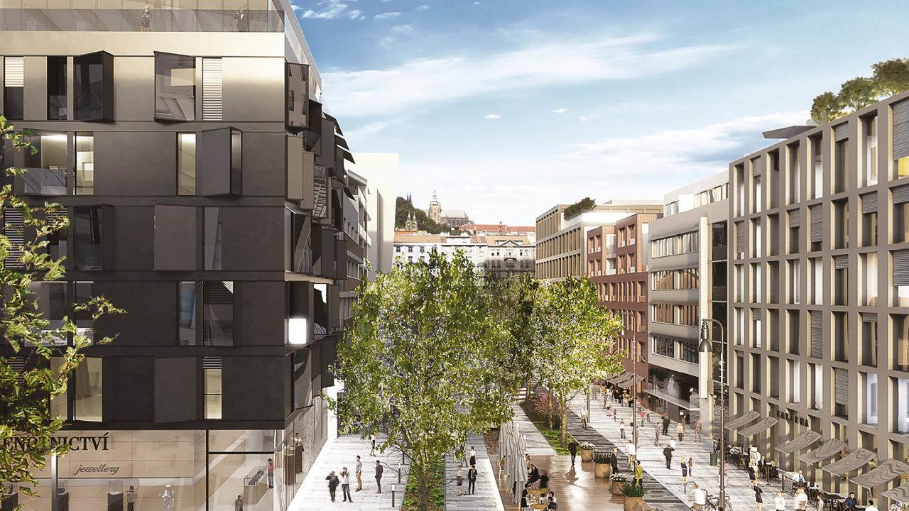 Budování nové městské čtvrti naSmíchově, které připravuje Sekyra Group, bude muset zohlednitpřipomínky úředníků z magistrátu.