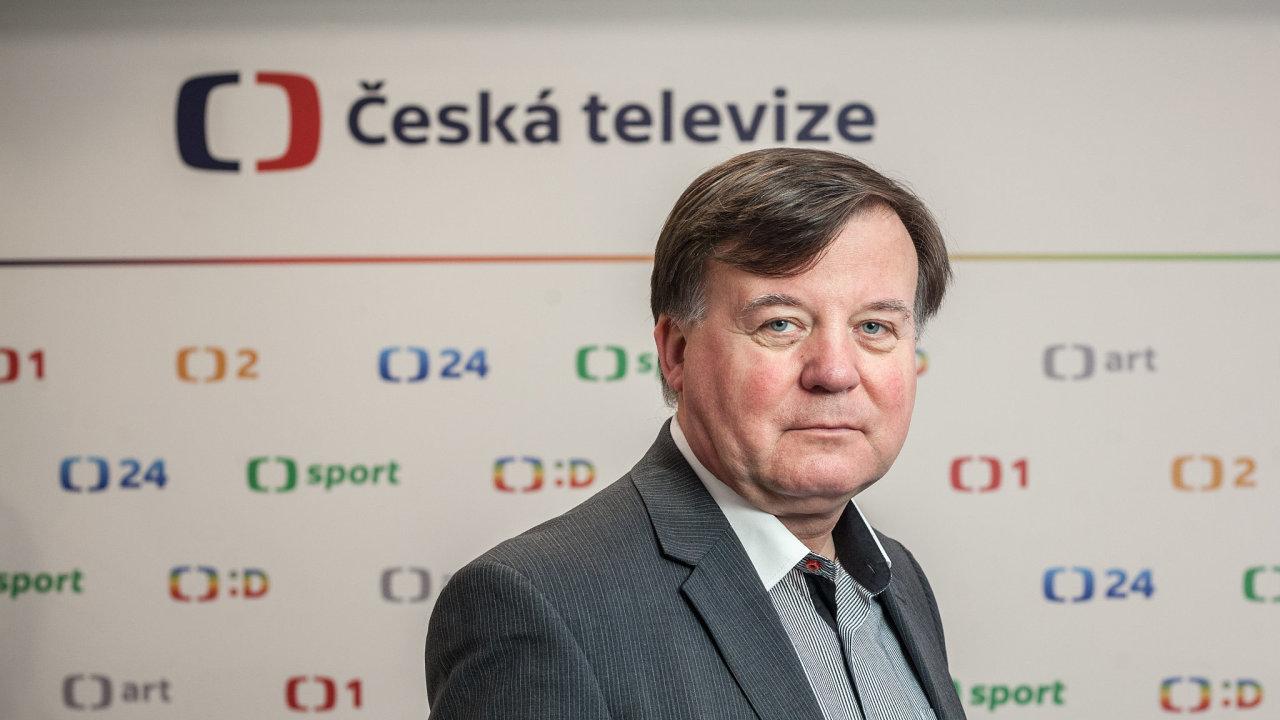 Jan Bednář, předseda Rady ČT