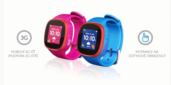 dětské chytré hodinky TCL MOVETIME Family Watch