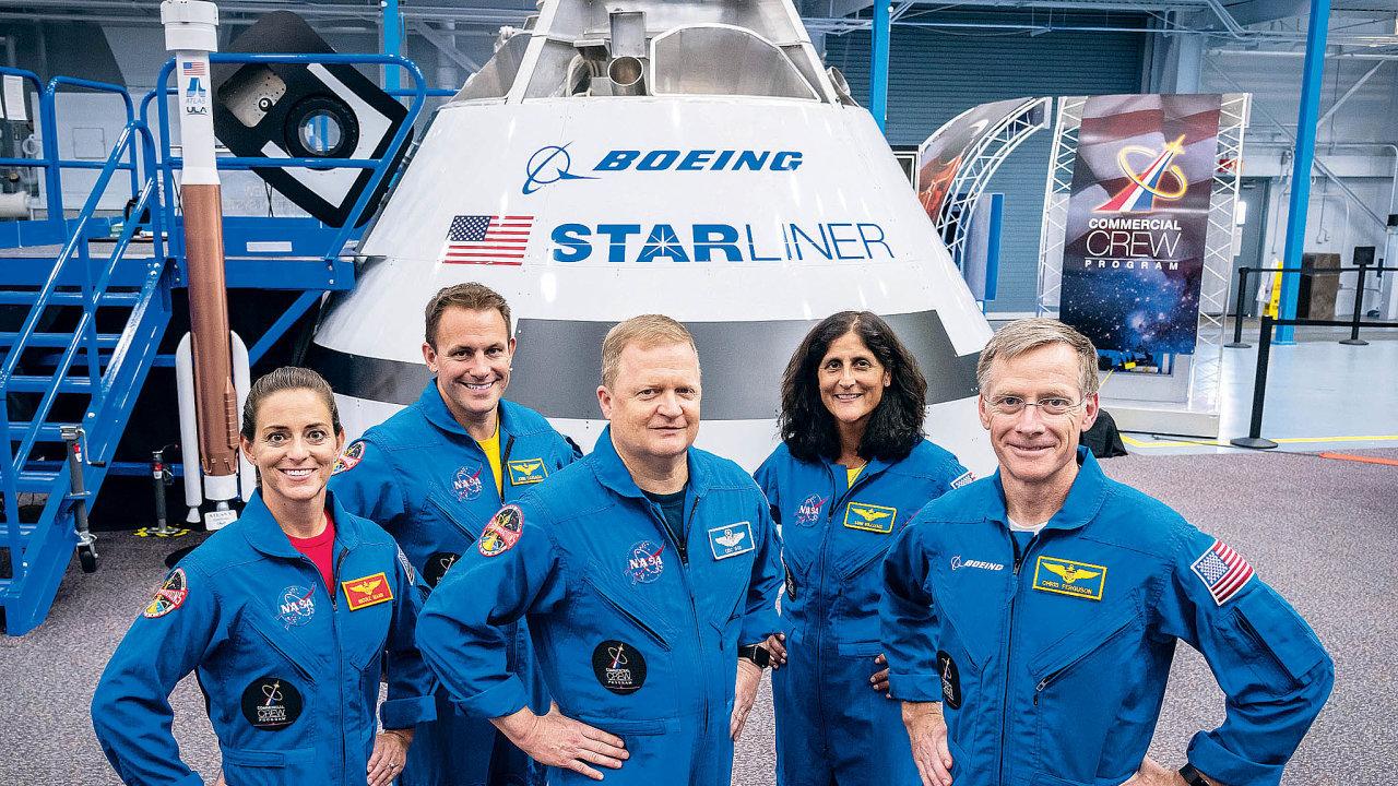 Společnost Boeingvyvíjí raketu, která by měla být schopná dopravovat posádku kMezinárodní vesmírné stanici. Poprvé by měla vzlétnout příští rok.