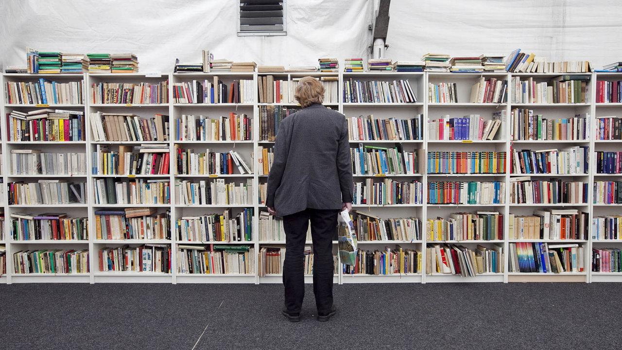Knihy, ilustrační foto.