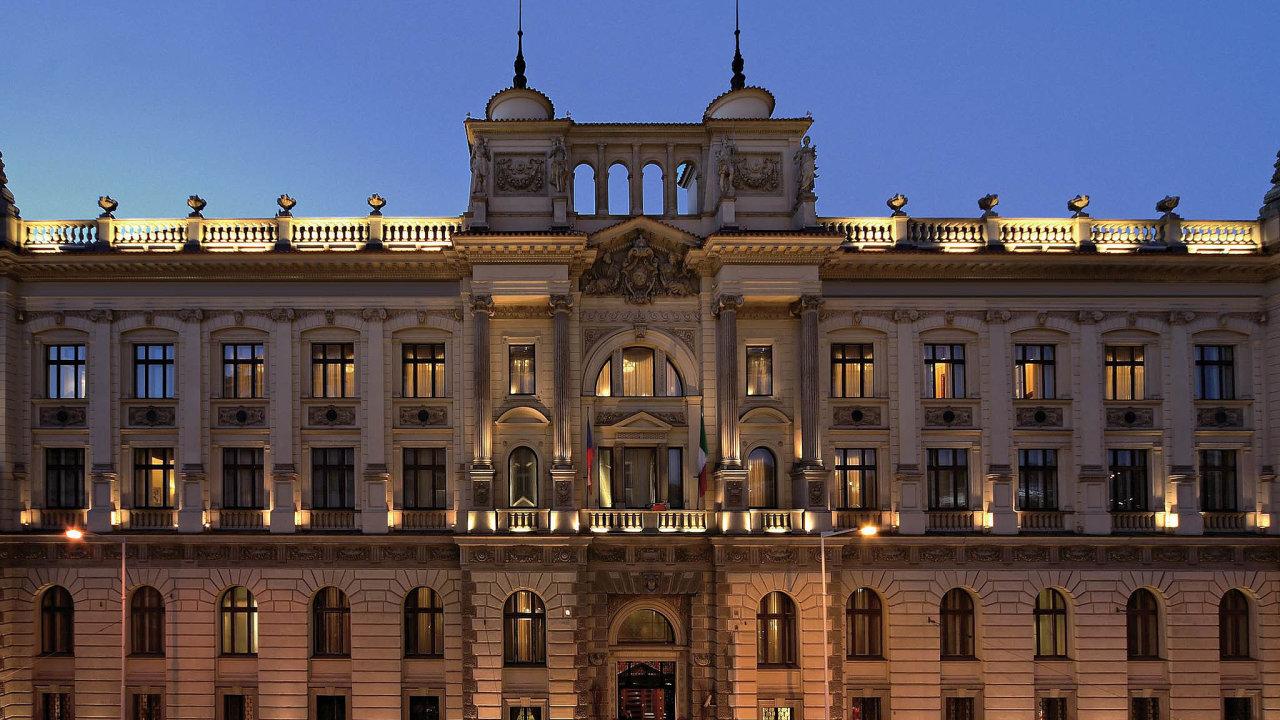 HotelCarlo IV na pražském Senovážném náměstí