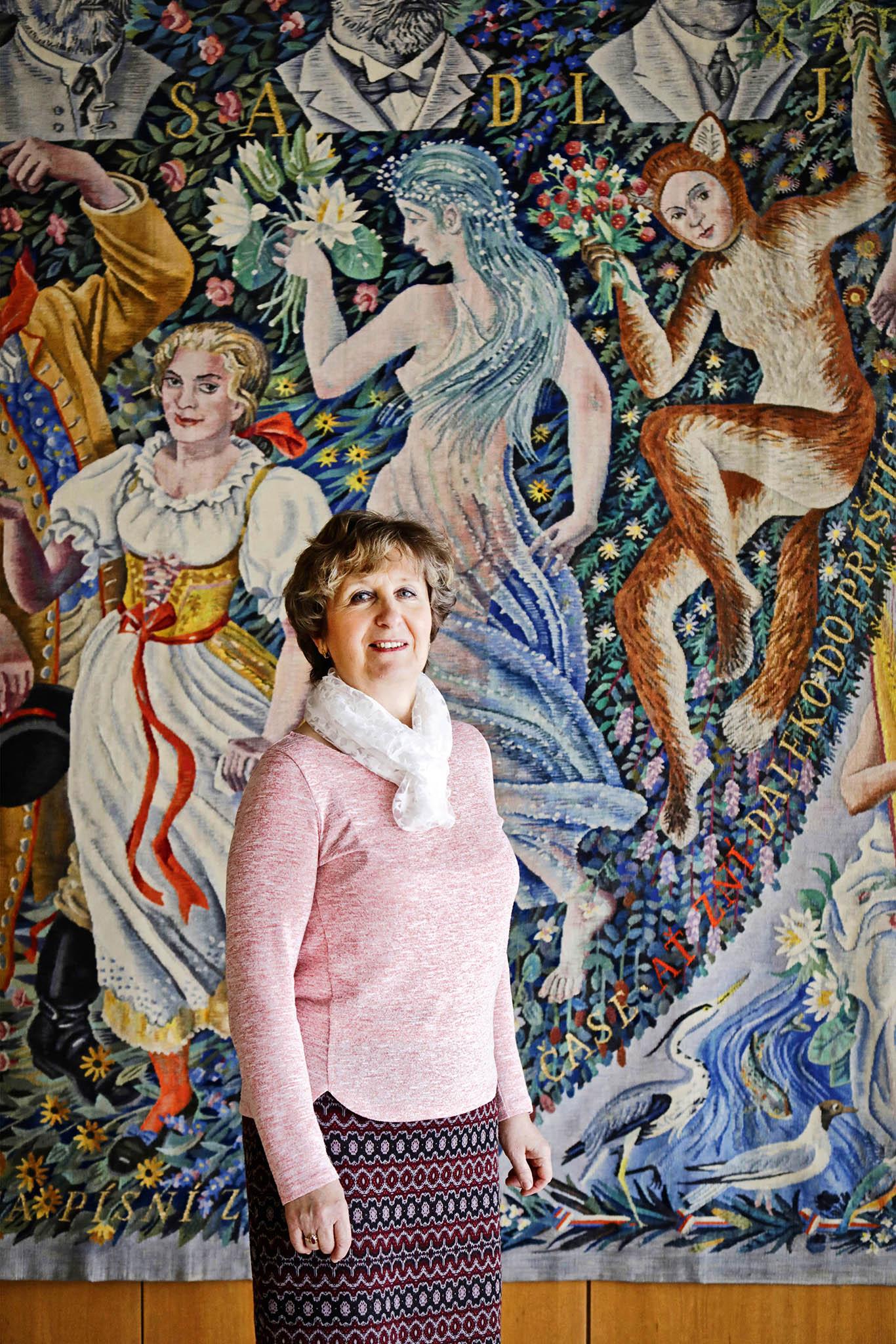 Manažerka lidských zdrojů Marie Filipová