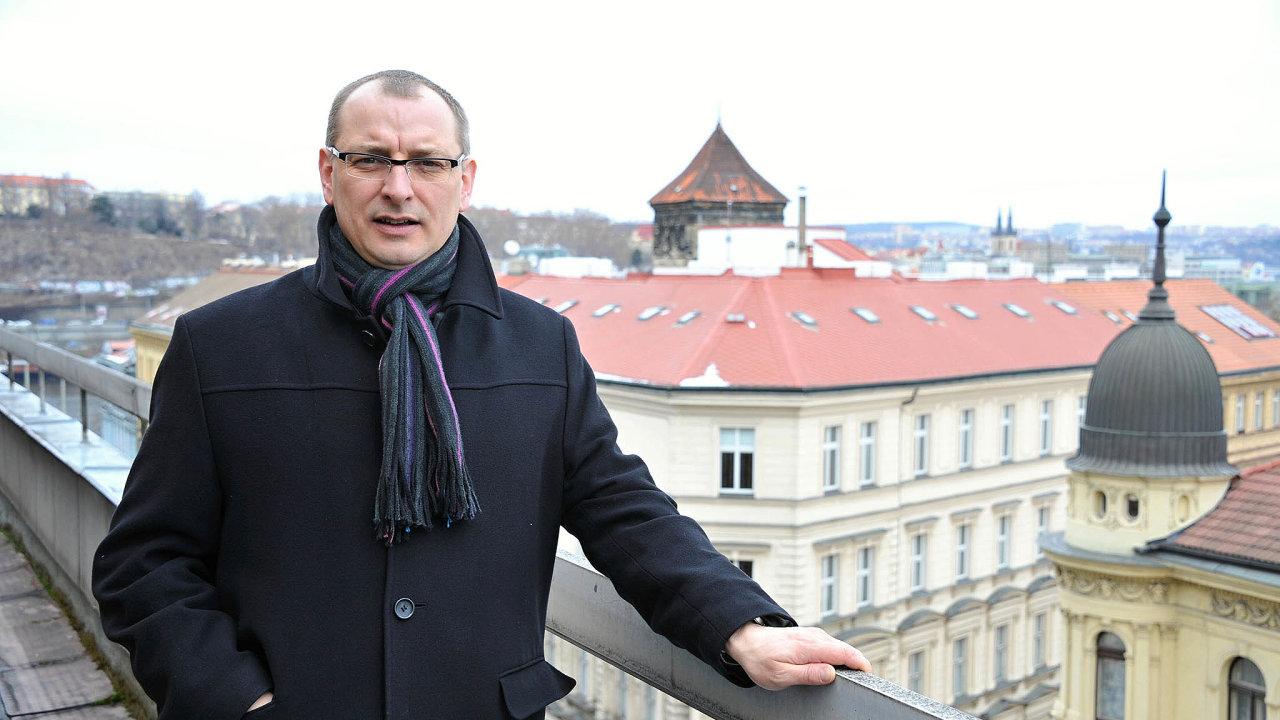 Václav Stárek, prezident Asociace hotelů arestaurací ČR