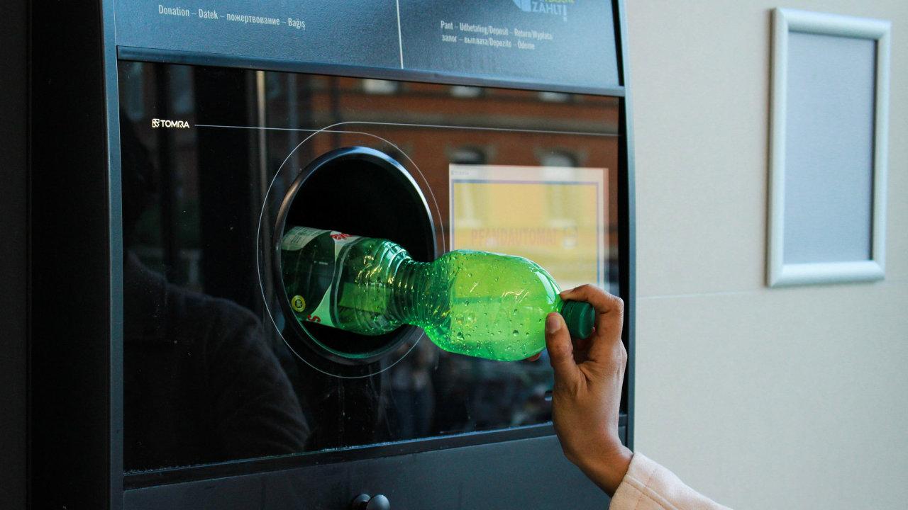 zálohovací systém, pet lahve