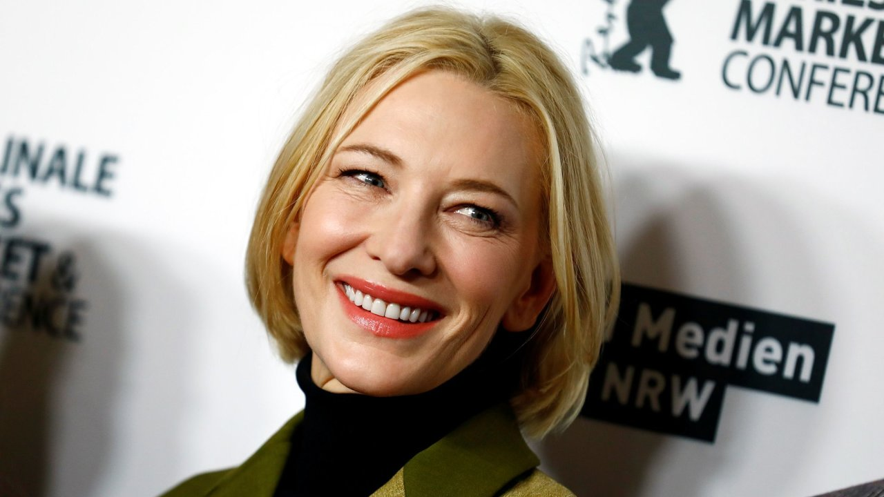 Herečka Cate Blanchett