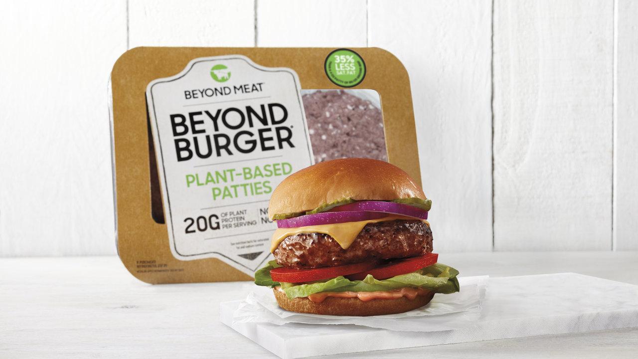 Beyond Burger Cheeseburger