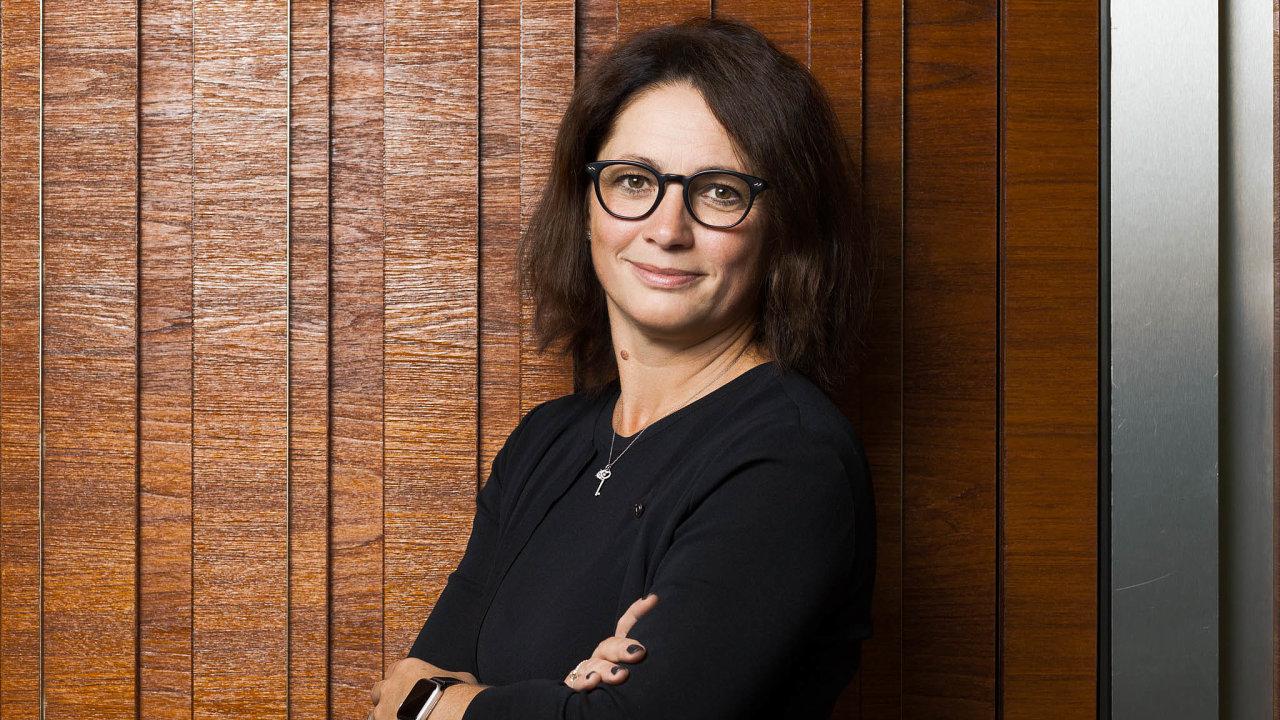 Říká si cifršpion. Finanční ředitelka PPF Kateřina Jirásková vede pro Petra Kellnera účetnictví už dlouho.