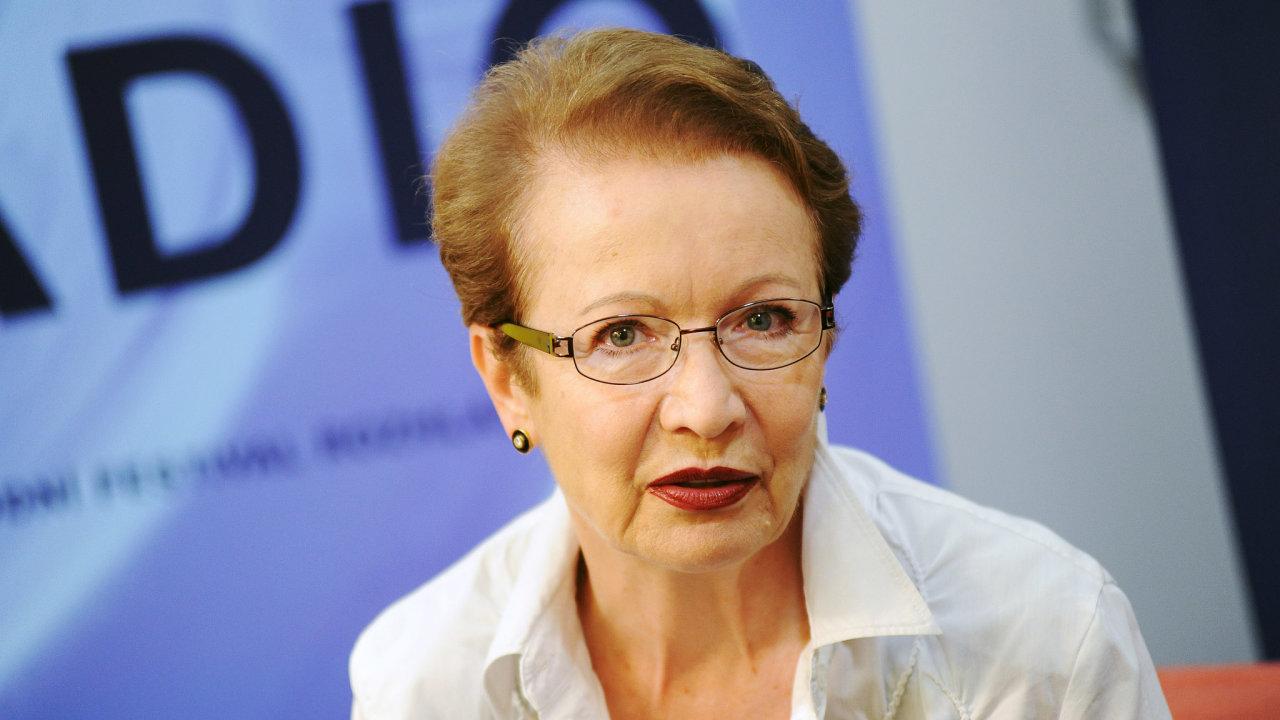 Ve věku 75 let zemřela 26. ledna 2021 v Olomouci po dlouhé a těžké nemoci herečka Hana Maciuchová (na archivním snímku ze 7. září 2015).