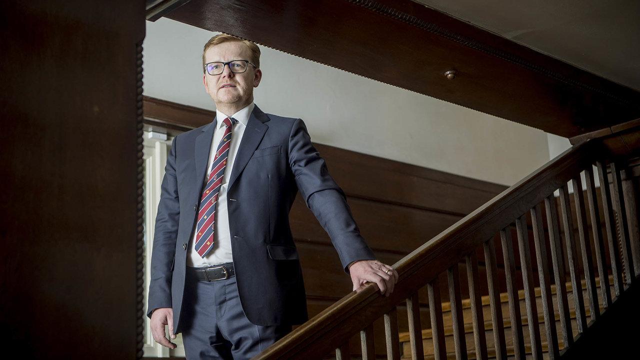 Předseda antimonopolního úřadu Petr Mlsna.