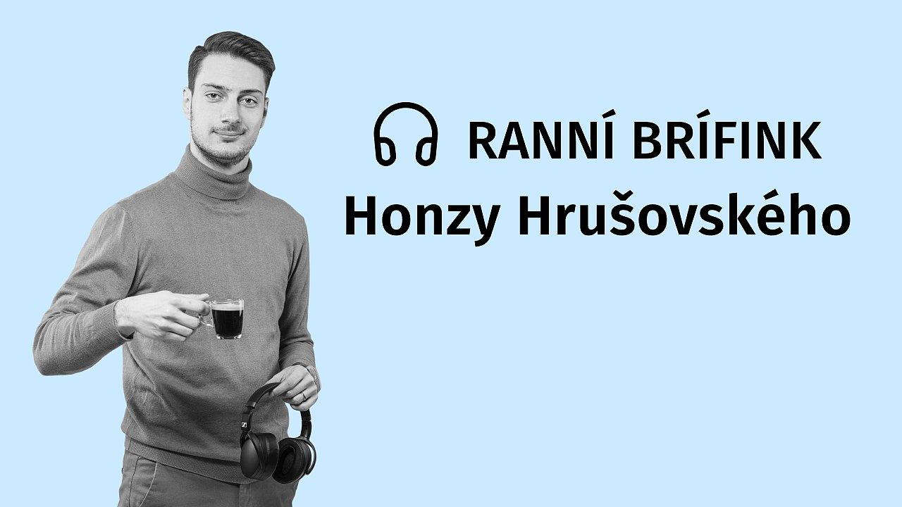 Podcast Ranní brífink Honzy Hrušovského