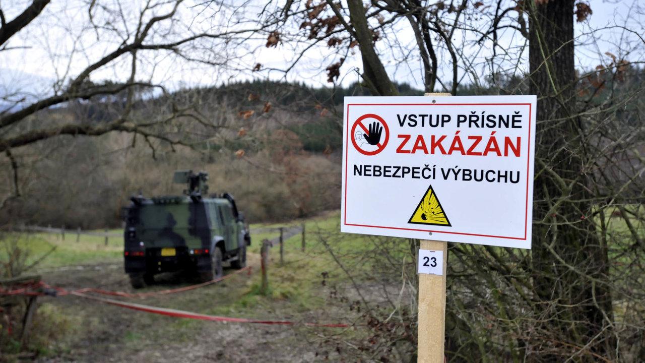 Občané obcí v okolí Vrbětic dostanou odškodné.