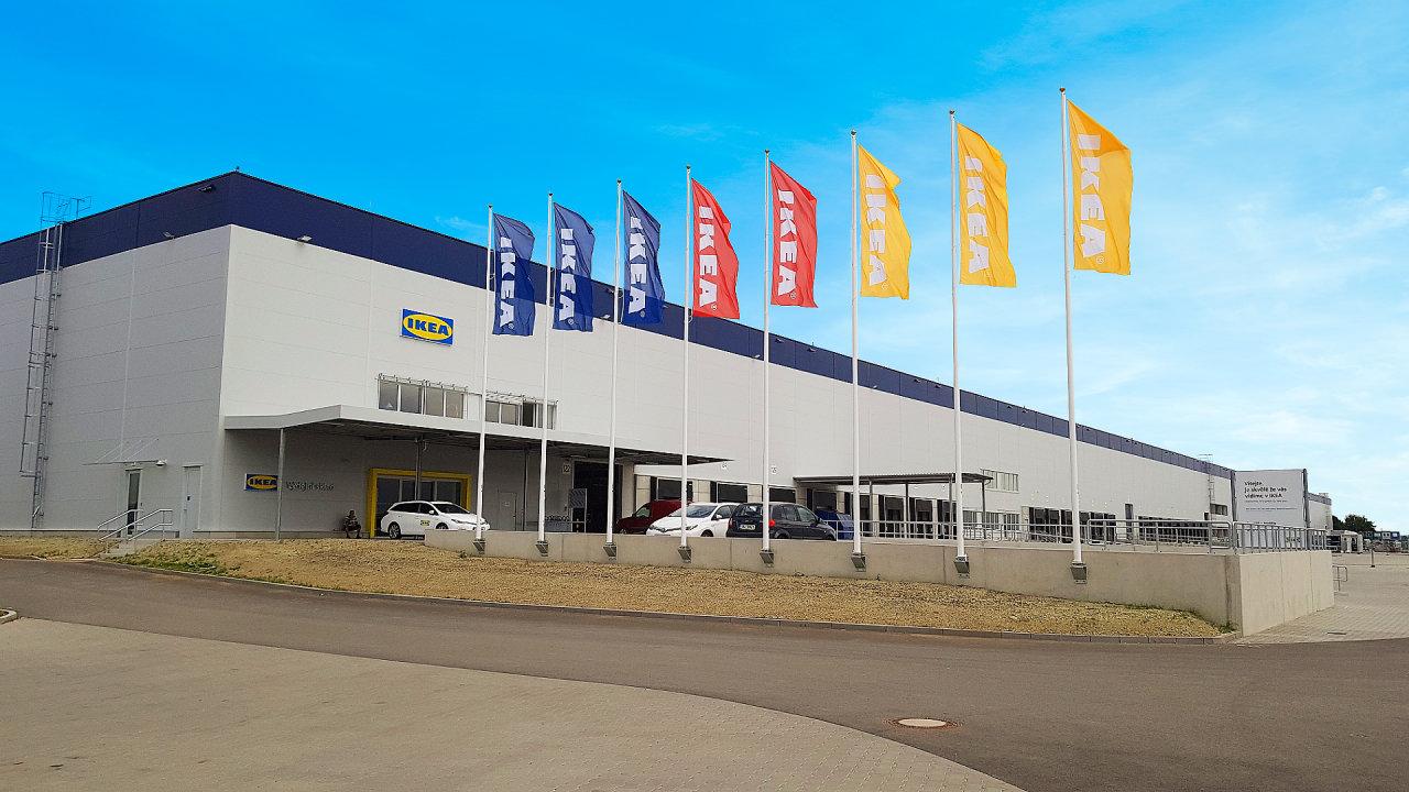 Nový výdejní sklad IKEA v Brně.