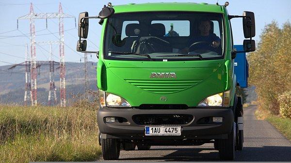 Nákladní vůz značky Avia