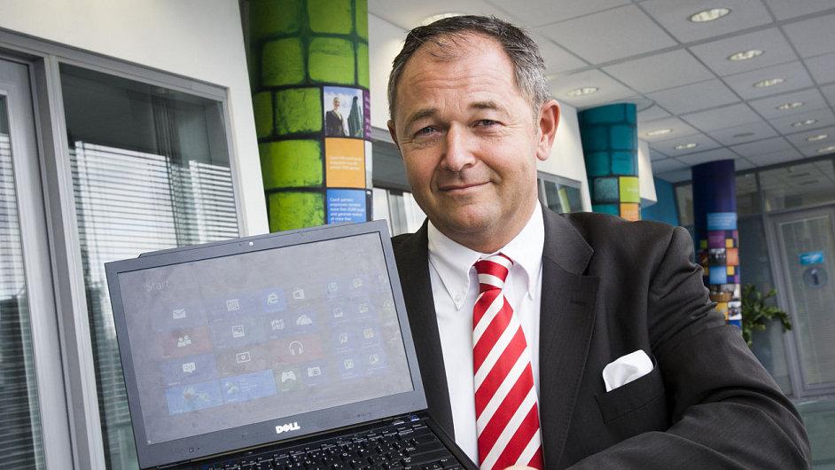 Jan Mühlfeit, viceprezident Microsoftu pro Evropu