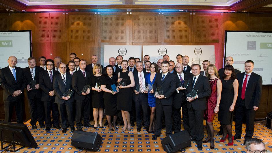 Vítězové soutěže Právnická firma roku 2012