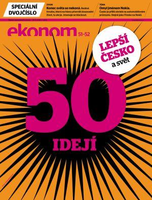 Týdeník Ekonom - č. 51-52/2012, obálka