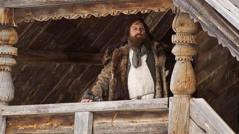 Gerard Depardieu v televizním filmu Rasputin z roku 2011