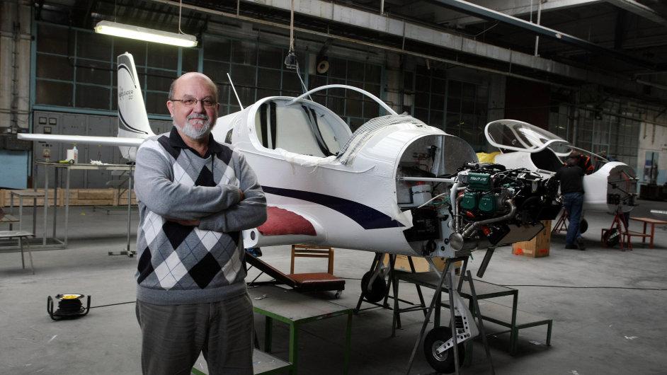 Kdo zachrání českou leteckou výrobu? Číně se nebráníme, říká šéf Jihlavan Airplanes Jan Dvořák
