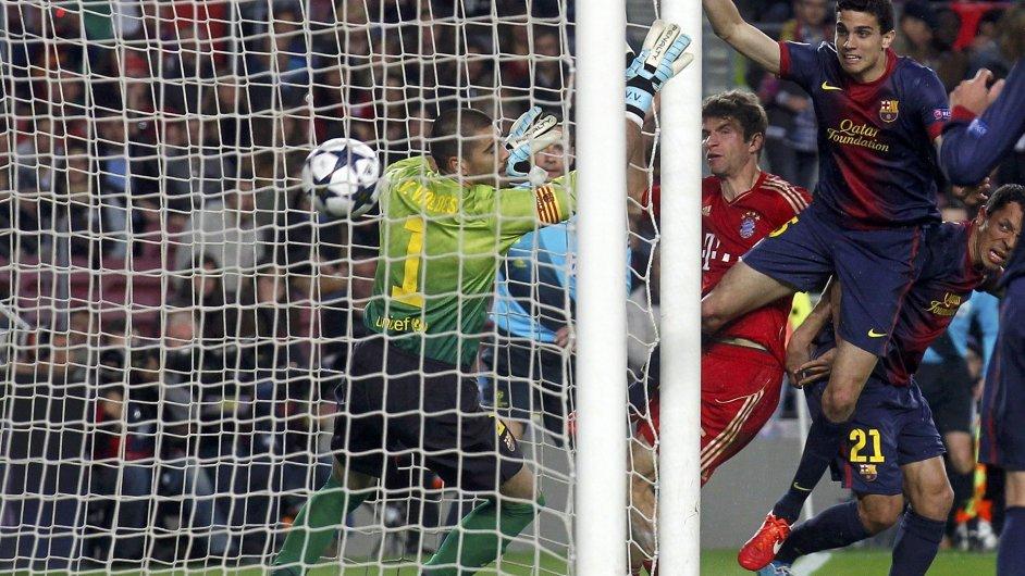 Třetí gól v brance Barcelony