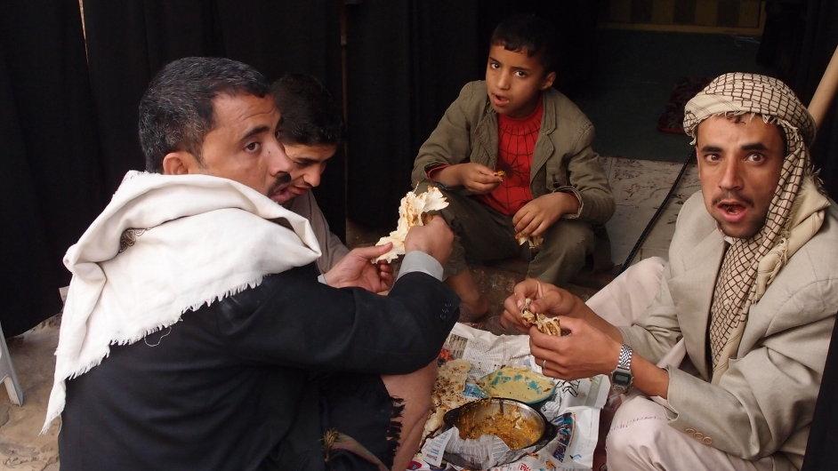 Obyvatelé San'á.