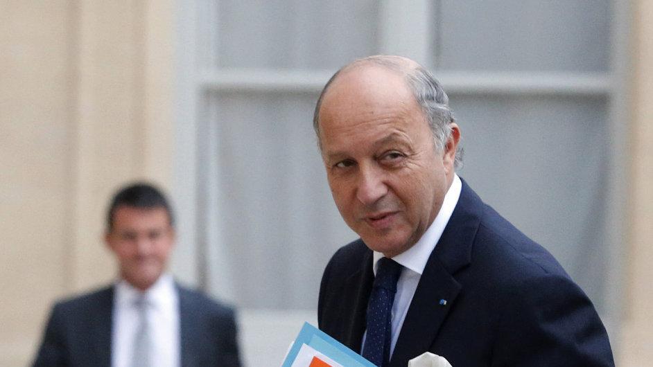 Francouzský ministr zahraničí Laurent Fabius