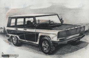 Tatra mohla za socialismu vyrábět vlastní Range Rover. Soudruzi ho ale odmítli