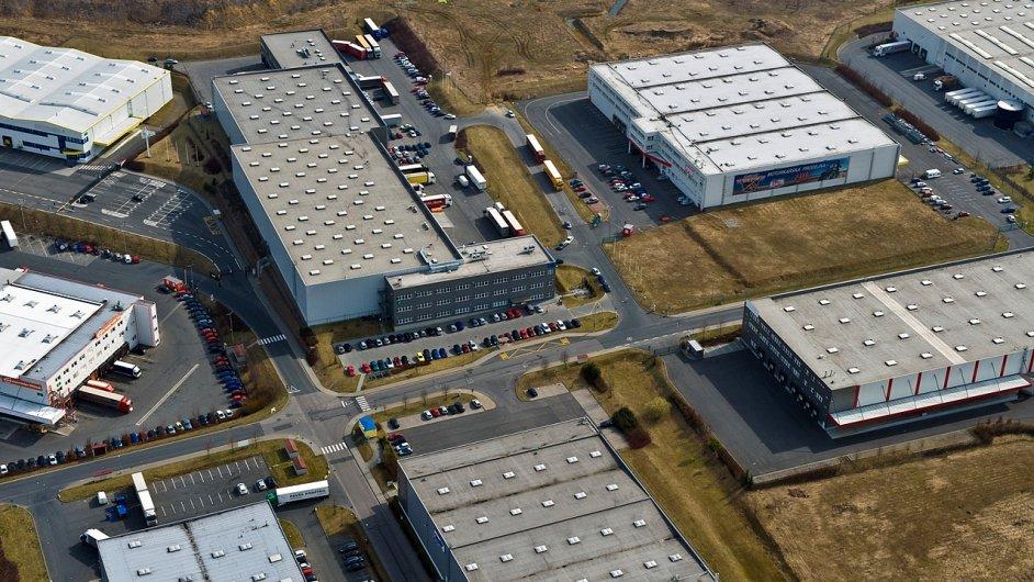 Business Park Rudná se během let rozrostl na 20 hal