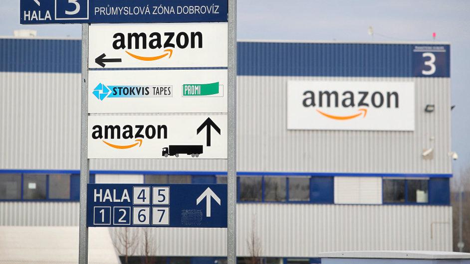 Amazon už má u ruzyňského letiště reklamační centrum.