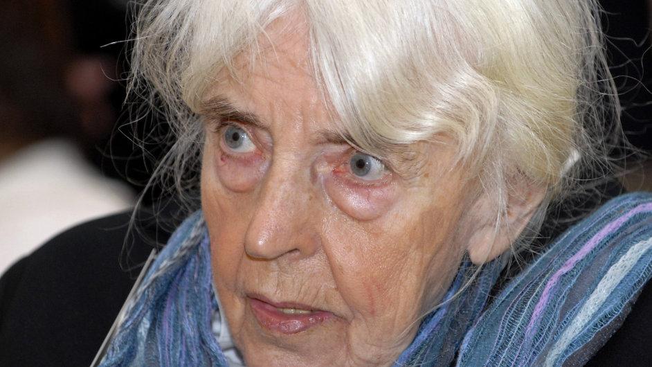 Adriena Šimotová na snímku z listopadu 2006.