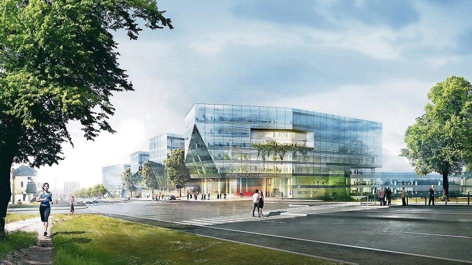 Administrativně-obchodní centrum Bořislavka