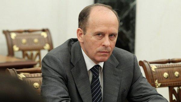 Ředitel ruské Federální bezpečnostní služby (FSB) Alexandr Bortnikov.