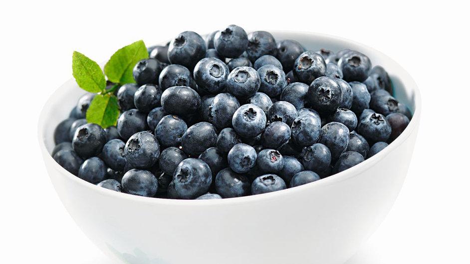 Borůvky patří mezi nejúčinnější antioxidanty.