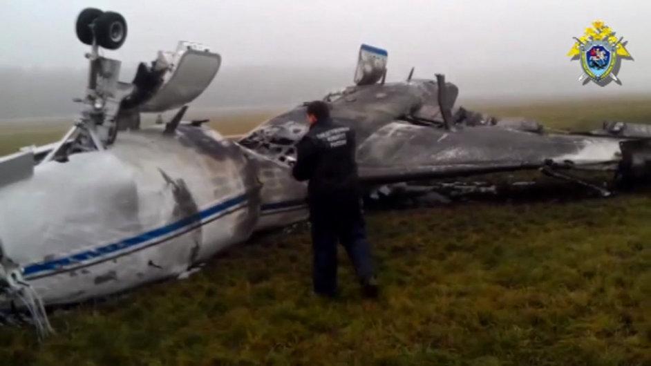 Při nehodě na moskevském letišti Vnukovo zahynul šéf ropného koncertu Total Christophe de Margerie.