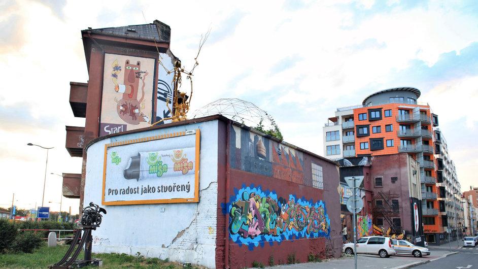 Galerie Trafačka musí opustit tento prostor v ulici Kurta Konráda.
