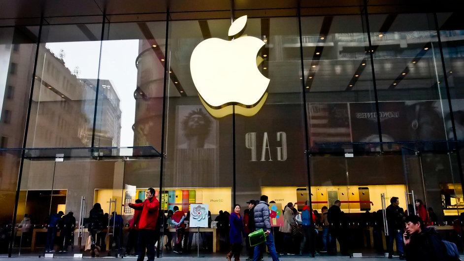 Apple pokračuje v rekordních výsledcích - Ilustrační foto.
