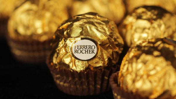 Ferrero vyrábí například pomazánky Nutella nebo čokolády Ferrero Rocher - Ilustrační foto.
